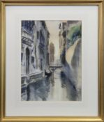 VENICE, A WATERCOLOUR BY PAUL MAZE