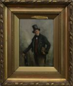 PORTRAIT OF A GENTLEMAN, AN OIL BY GEORGE AIKMAN