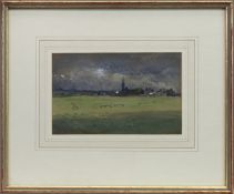 THE COMING STORM, A WATERCOLOUR BY JAMES GARDEN LAING
