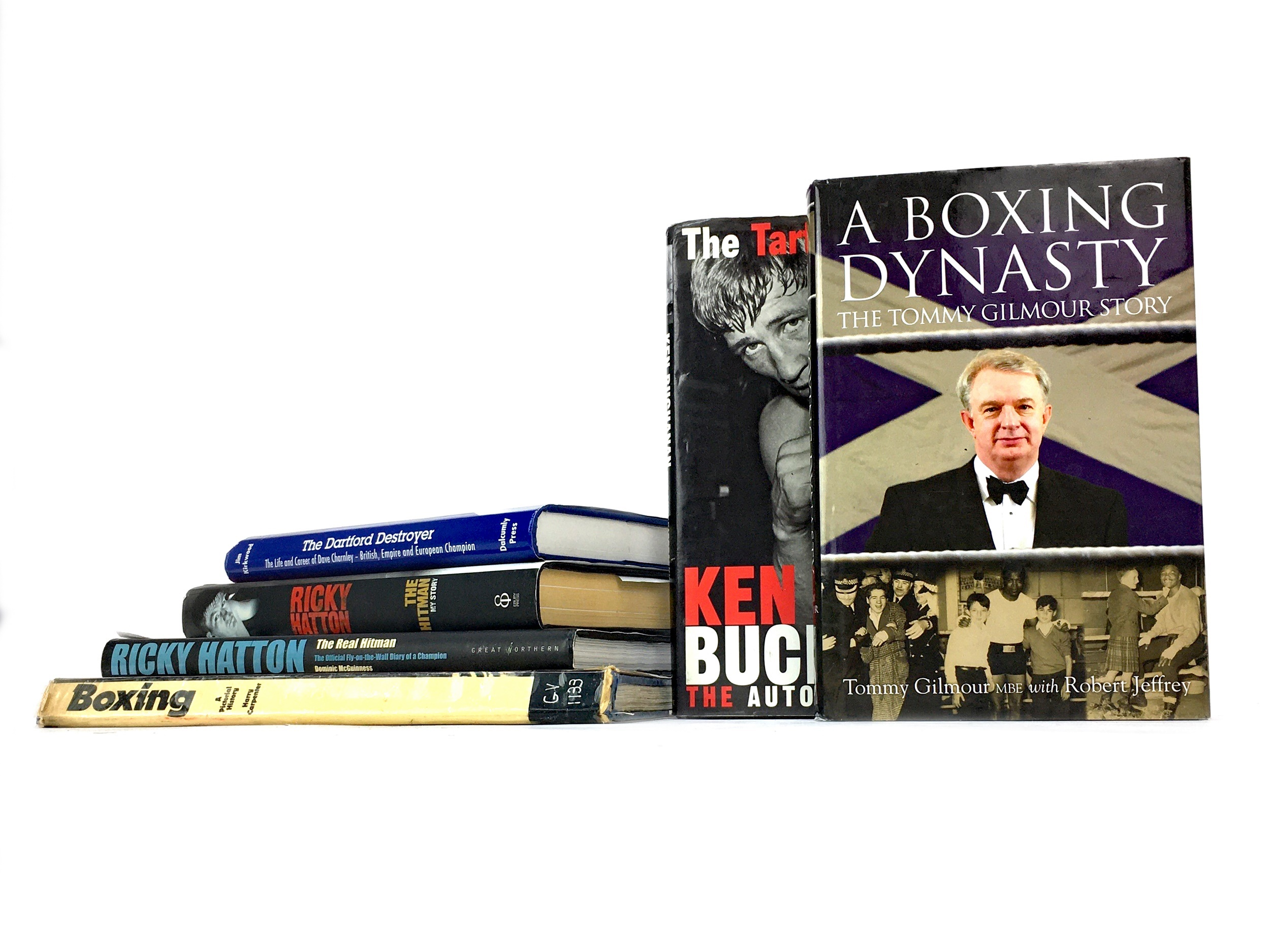 Lot 1760 - A COLLECTION OF BIOGRAPHIES OF BRITISH BOXERS