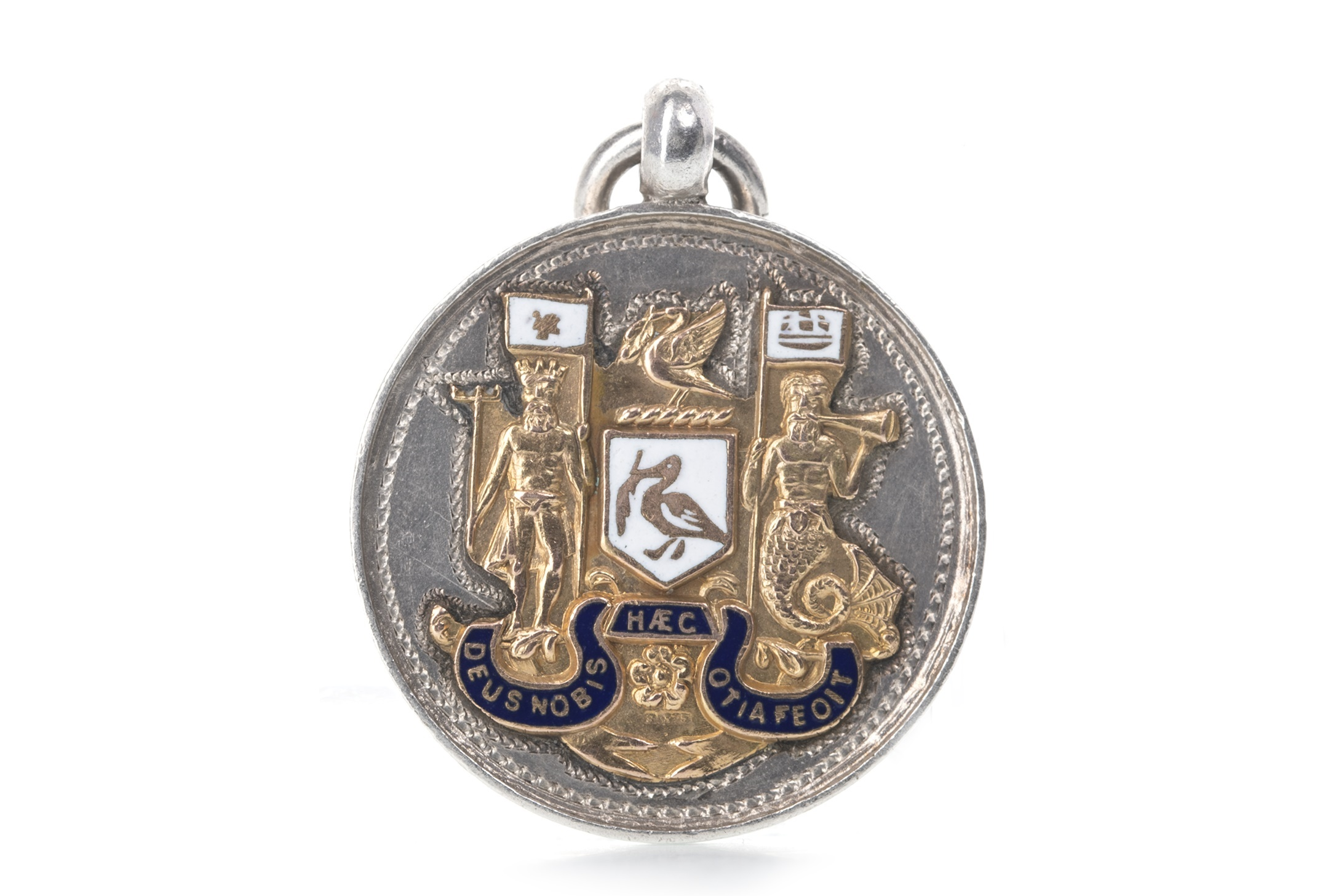 Lot 1765 - A LIVERPOOL HOSPITAL CUP SILVER MEDAL 1938