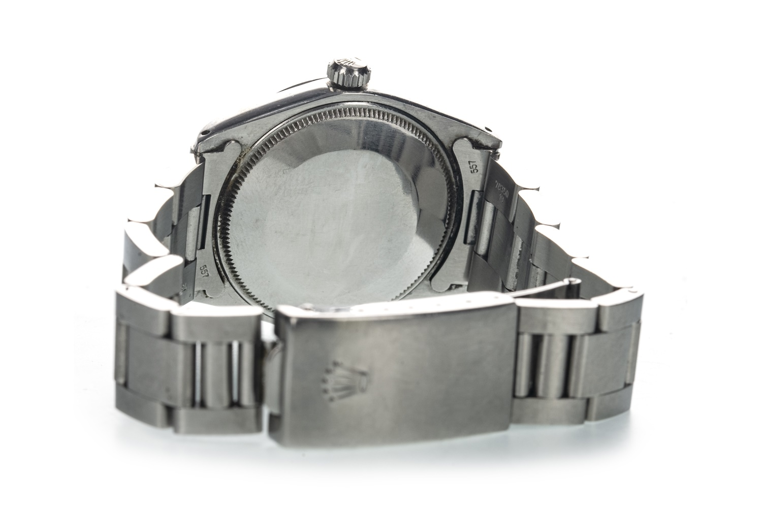 Lot 857 - A GENTLEMAN'S ROLEX AIR KING STAINLESS STEEL AUTOMATIC WRIST WATCH