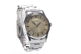 A GENTLEMAN'S ROLEX OYSTER PERPETUAL STAINLESS STEEL WRIST WATCH