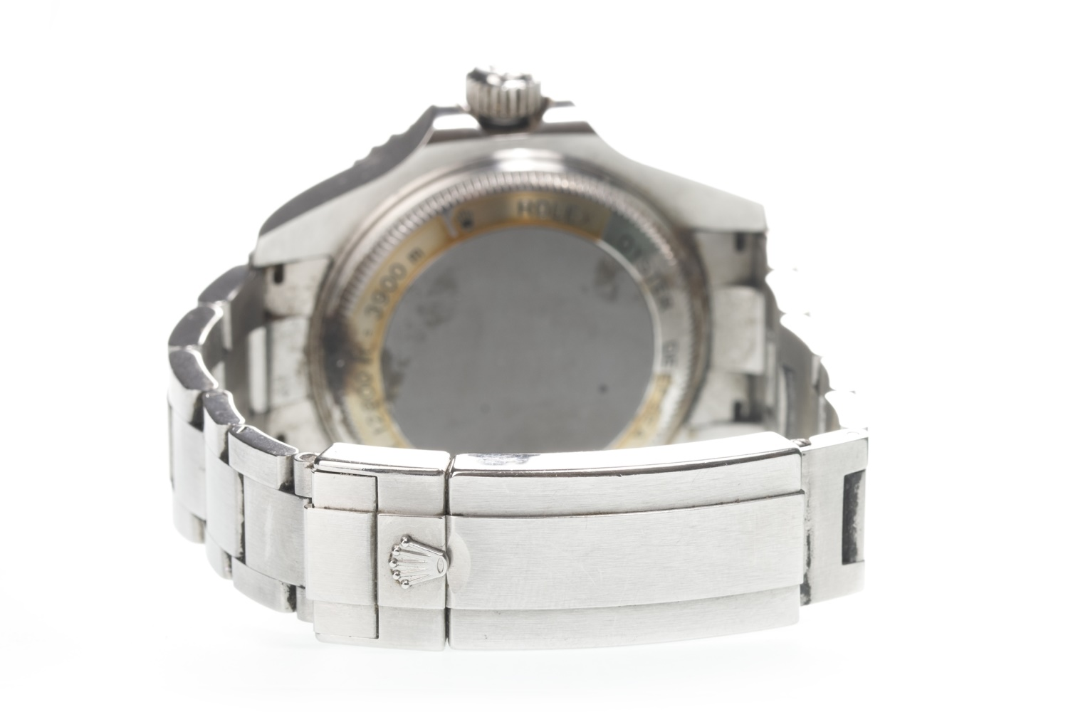 Lot 861 - A GENTLEMAN'S ROLEX DEEP SEA SEA-DWELLER STAINLESS STEEL AUTOMATIC WRIST WATCH,