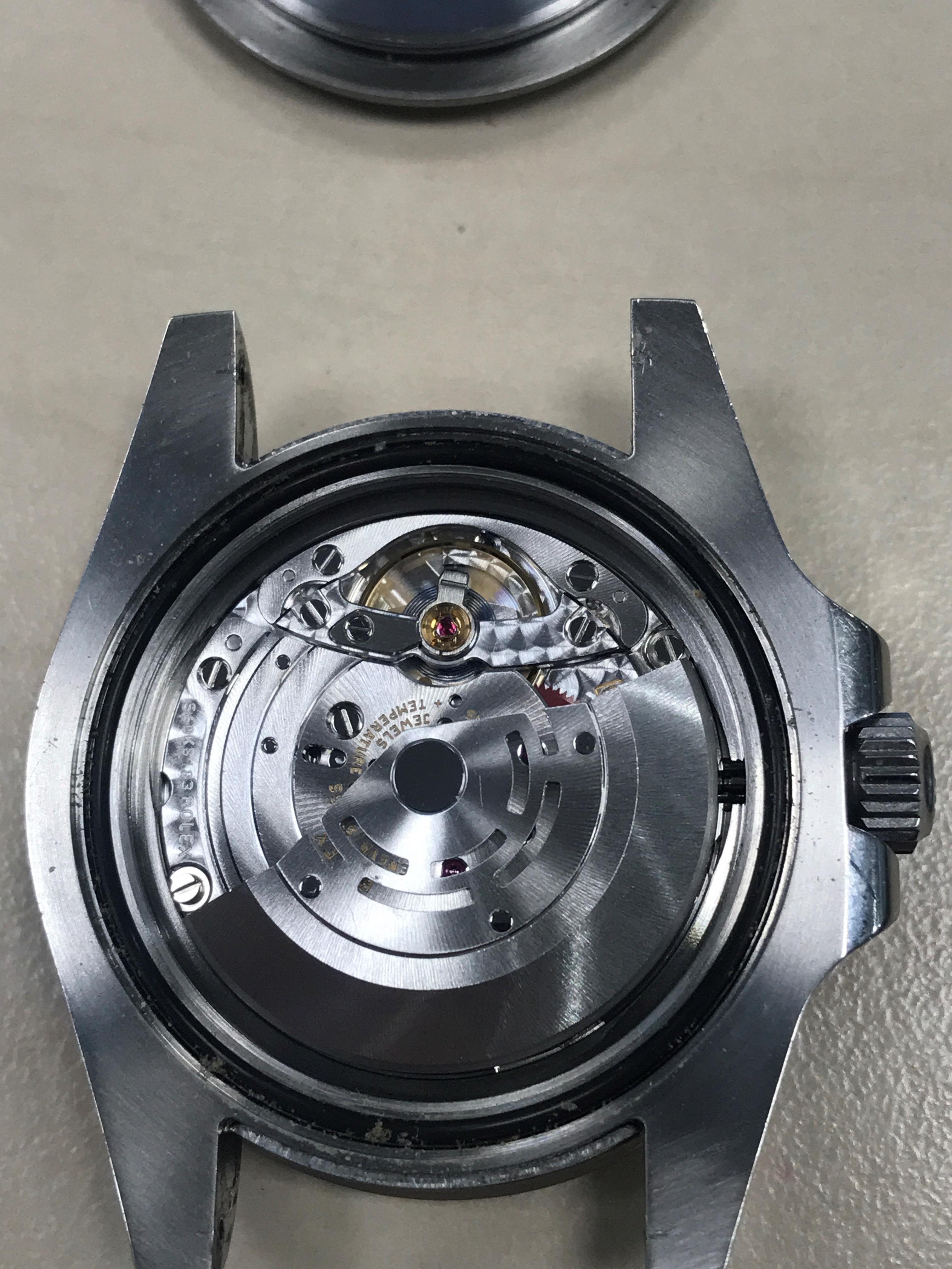 Lot 851 - A GENTLEMAN'S GMT-MASTER II STAINLESS STEEL WATCH