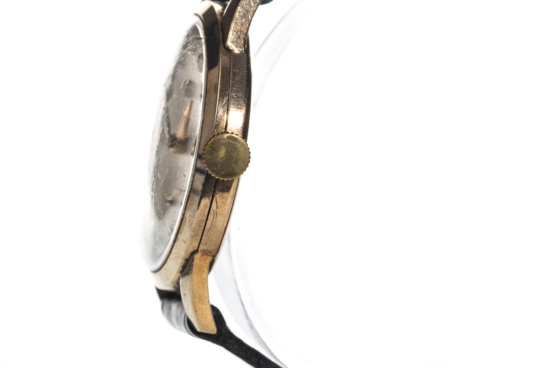 Lot 864 - A GENTLEMAN'S NINE CARAT GOLD ROLEX PRECISION MANUAL WIND WRIST WATCH