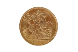 AN EDWARD VII (1901 - 1910) GOLD SOVEREIGN DATED 1905