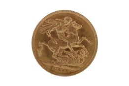 A GEORGE V (1910 - 1936) GOLD SOVEREIGN DATED 1925