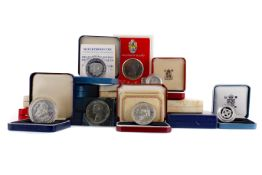A COLLECTION OF BRITISH SILVER AND OTHER PROOF COINS