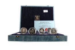 THE COMMONWEALTH GAMES 1986 SILVER PROOF COLLECTION