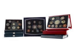 A COLLECTION OF BRITISH DECIMAL COIN SETS
