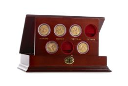 GOLD SOVEREIGNS OF THE EMPIRE COIN SET