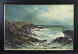 COASTGUARD LOOKOUT, CRAIL, A OIL BY ALFRED ALLAN
