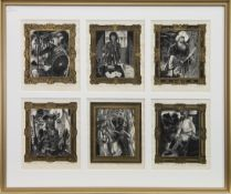 THE DEVIL'S DISCIPLES, WOODBLOCKS BY G W LENNOX