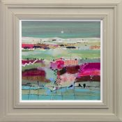 SPRING PATTERNS AND MOONLIGHT, AN OIL BY EMMA DAVIS
