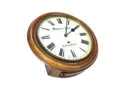 AN EARLY 20TH CENTURY WALL CLOCK BY MORATH BROS.