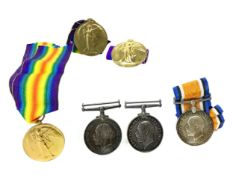 A LOT OF SIX WWI MEDALS