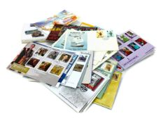A COLLECTION OF LOOSE CHANNEL ISLANDS FIRST DAY COVERS
