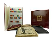 A COLLECTION OF WORLD STAMPS