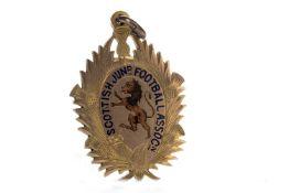 JIMMY MCMENEMY - HIS SCOTTISH JUNIOR FOOTBALL ASSOCIATION GOLD MEDAL 1902
