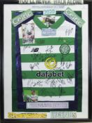 A SIGNED CELTIC FOOTBALL CLUB JERSEY