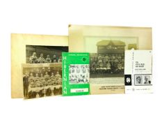 A LOT OF THREE EARLY 20TH CENTURY CELTIC F.C. TEAM PHOTOGRAPHS