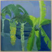 PALM TREES, AN OIL BY PAUL GELL