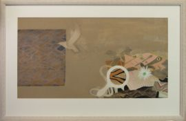 FISH AND SEAGULL, A MIXED MEDIA BY WILLIAM LITTLEJOHN