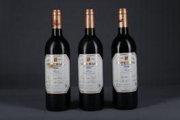 THREE BOTTLES OF CVNE 1989 IMPERIAL RESERVA