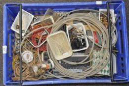 A quantity of tools and wire