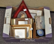 A selection of photo frames