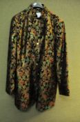 A heavily embroidered gentleman's dress coat