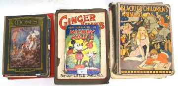 A Mickey Mouse book and others