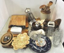 A cafetiere and other kitchenalia