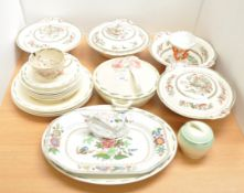 A part suzie cooper dinner service and other items