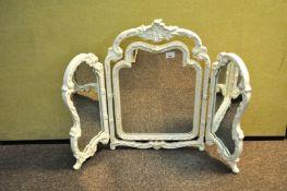 A tryptych mirror