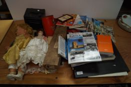 A Colonial photograph album and other items