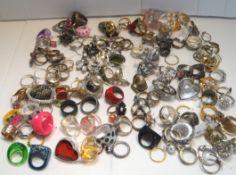 A box of dress rings