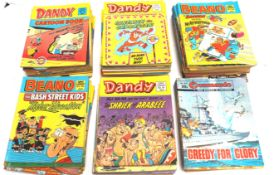 A group of period Dandy comic library magazines