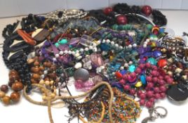 A collection of costume jewellery
