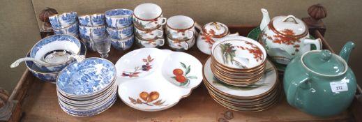 A selection of ceramics,