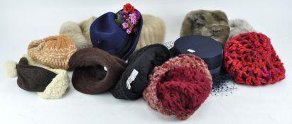 A quantity of hats