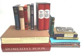 Domesday Book Studies and a small collection of Folio Society books