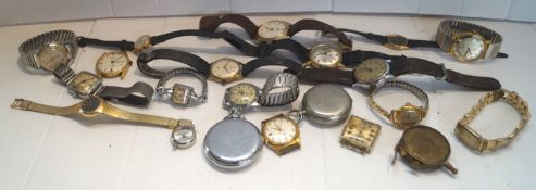 A group of assorted watches