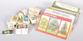 A collection of Brooke Bond tea cards, to include Asian wild life,
