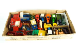 A collection of Britains Die cast model vehicles,