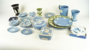 A group of Wedgwood Jasperware items