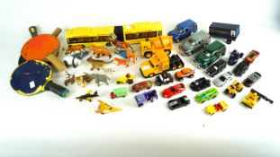 A selection of model cars