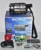 A Sony Handycam,