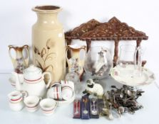 A 'Mid Winter' coffee service and other ceramics